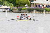 Henley Royal Regatta 2013, Thursday. River Thames between Henley and Temple Island, Henley-on-Thames, Berkshire, United Kingdom, on 04 July 2013 at 11:46, image #237