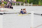 Henley Royal Regatta 2013, Thursday. River Thames between Henley and Temple Island, Henley-on-Thames, Berkshire, United Kingdom, on 04 July 2013 at 11:47, image #240