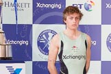 The Boat Race season 2012 - Crew Announcement and Weigh In: Cambridge: Cox Ed Bosson, British, 55.6kg.. Forman's Fish Island, London E3,  United Kingdom, on 05 March 2012 at 10:19, image #33