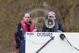 The Boat Race season 2012 - OUBC training: OUBC coach Filipe Salbany and Chief Coach Sean Bowden..   Oxfordshire, United Kingdom, on 20 March 2012 at 15:08, image #21