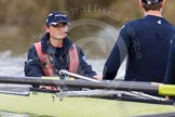 The Boat Race season 2012 - OUBC training: Cox Zoe de Toledo, stroke Roel Haen..   Oxfordshire, United Kingdom, on 20 March 2012 at 15:08, image #22