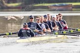 The Boat Race season 2012 - OUBC training: Cox Zoe de Toledo, stroke Roel Haen, 7 Dan Harvey, 6 Dr. Hanno Wienhausen, 5 Karl Hudspith, 4 Alexander Davidson, 3 Kevin Baum, 2 William Zeng, and bow Dr. Alexander Woods..   Oxfordshire, United Kingdom, on 20 March 2012 at 15:35, image #47