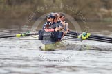 The Boat Race season 2012 - OUBC training: Cox Zoe de Toledo, stroke Roel Haen, 7 Dan Harvey, 6 Dr. Hanno Wienhausen, 5 Karl Hudspith, 4 Alexander Davidson, 3 Kevin Baum, 2 William Zeng, and bow Dr. Alexander Woods..   Oxfordshire, United Kingdom, on 20 March 2012 at 16:16, image #99