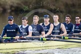 The Boat Race season 2012 - OUBC training: Stroke Roel Haen, 7 Dan Harvey, 6 Dr. Hanno Wienhausen, 5 Karl Hudspith, 4 Alexander Davidson, 3 Kevin Baum, and 2 William Zeng..   Oxfordshire, United Kingdom, on 20 March 2012 at 16:47, image #113
