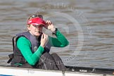 The Boat Race season 2012 - fixture OUBC vs Leander: The unnamed Tideway Scullers cox..     on 24 March 2012 at 13:33, image #18