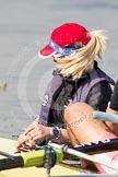 The Boat Race season 2012 - fixture OUBC vs Leander: Leander Club cox Katie Klavenes - Finallist, Ladies Challenge Plate, Henley Royal Regatta 2011..     on 24 March 2012 at 13:47, image #49