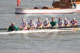 The Boat Race season 2012 - fixture OUBC vs Leander: The Tideway Scullers unnamed Eight..     on 24 March 2012 at 13:48, image #51