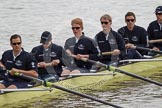 The Boat Race 2012: The ISIS crew getting ready for the Boat Race against the Cambridge reserve boat Goldie: Justin Webb, Geordie Macleod, Joseph Dawson, Ben Snodin, Julian Bubb-Humfryes, and Chris Fairweather..     on 07 April 2012 at 13:06, image #116