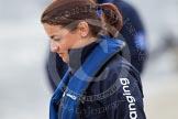 The Boat Race 2012: Zoe de Toledo, cox of the Oxford Blue Boat..     on 07 April 2012 at 13:27, image #132
