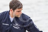 The Boat Race 2012: Kevin Baum, 3 seat of the Oxford Blue Boat..     on 07 April 2012 at 13:29, image #137