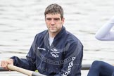 The Boat Race 2012: Kevin Baum, 3 seat of the Oxford Blue Boat..     on 07 April 2012 at 13:29, image #139