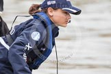 The Boat Race 2012: Zoe de Toledo, cox of the Oxford Blue Boat..     on 07 April 2012 at 13:31, image #141