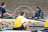 The Boat Race 2012: The Goldie/Isis Boat Race: Stroke Tom Watson and cox Katherine Apfelbaum in the Oxford reserve boat,  Hank Moore and Joel Jennings in Goldie..     on 07 April 2012 at 13:46, image #166