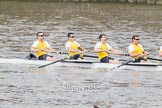The Boat Race 2012: The Goldie/Isis Boat Race: Bow Josh Pendry, Rowan Lawson, Peter Dewhurst, and Tom Havorth in Goldie, the Cambridge reserve boat..     on 07 April 2012 at 13:46, image #173