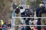 The Boat Race 2012: BBC Sport/SIS cameramen before the start of the 2012 Boat Race..     on 07 April 2012 at 13:58, image #205