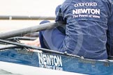 The Boat Race season 2013 - fixture OUWBC vs Molesey BC: Focus in the sponsor of The Women's Boat Race, Newton. Newton is a London-based global asset management subsidiary of The Bank of New York Mellon Corporation and part of BNY Mellon.. Dorney Lake, Dorney, Windsor, Berkshire, United Kingdom, on 24 February 2013 at 10:55, image #13