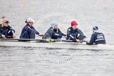 The Boat Race season 2013 - fixture OUWBC vs Molesey BC: OUWBC: Amy Varney, Harriet Keane, Anastasia Chitty, Maxie Scheske, and cox Sophie Shawdon.. Dorney Lake, Dorney, Windsor, Berkshire, United Kingdom, on 24 February 2013 at 11:45, image #77
