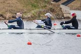 The Boat Race season 2013 - fixture OUWBC vs Molesey BC: OUWBC five Amy Varney, four Joanna Lee and three Mary Foord Weston.. Dorney Lake, Dorney, Windsor, Berkshire, United Kingdom, on 24 February 2013 at 12:00, image #91