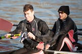 The Boat Race season 2013 - fixture CUBC vs Leander. River Thames Tideway between Putney Bridge and Mortlake, London SW15,  United Kingdom, on 02 March 2013 at 15:33, image #80