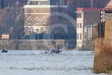 The Boat Race season 2013 - fixture CUBC vs Leander. River Thames Tideway between Putney Bridge and Mortlake, London SW15,  United Kingdom, on 02 March 2013 at 16:02, image #184