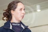The Boat Race season 2013 - Crew Announcement and Weigh In: OUWBC six seat Harriet Keane.. BNY Mellon Centre, London EC4V 4LA,  United Kingdom, on 04 March 2013 at 11:04, image #103