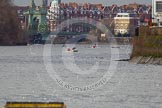 The Boat Race season 2013 - fixture CUBC vs Molesey BC, Goldie vs London RC. Tideway, London SW15,  United Kingdom, on 16 March 2013 at 15:14, image #73