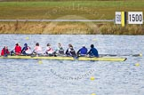 The Boat Race season 2013 - fixture OUWBC vs Olympians: In the Olympians boat cox Victoria Stulgis, stroke Caryn Davies, 7 Katherine Grainger, 6 Katherine Douglas, 5 Anna Watkins, 4 Bethan Walters, 3 Christiana Amacker, 2 Kate Johnson and at bow Natasha Townsend.. Dorney Lake, Dorney, Windsor, Buckinghamshire, United Kingdom, on 16 March 2013 at 11:49, image #93