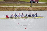 The Boat Race season 2013 - fixture OUWBC vs Olympians: In the Olympians boat cox Victoria Stulgis, stroke Caryn Davies, 7 Katherine Grainger, 6 Katherine Douglas, 5 Anna Watkins, 4 Bethan Walters, 3 Christiana Amacker, 2 Kate Johnson and at bow Natasha Townsend.. Dorney Lake, Dorney, Windsor, Buckinghamshire, United Kingdom, on 16 March 2013 at 11:51, image #105