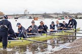 The Boat Race season 2013 - fixture OUBC vs German Eight. River Thames, London SW15,  United Kingdom, on 17 March 2013 at 14:21, image #9