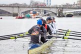 The Boat Race season 2013 - fixture OUBC vs German Eight. River Thames, London SW15,  United Kingdom, on 17 March 2013 at 14:26, image #30