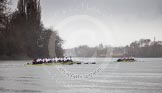 The Boat Race season 2013 - fixture OUBC vs German Eight. River Thames, London SW15,  United Kingdom, on 17 March 2013 at 15:09, image #99