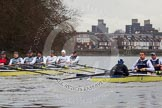 The Boat Race season 2013 - fixture OUBC vs German Eight. River Thames, London SW15,  United Kingdom, on 17 March 2013 at 15:26, image #137