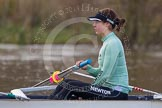 The Boat Race season 2013 - CUWBC training: The CUWBC Blue Boat, in the 7 seat Emily Day.. River Thames near Remenham, Henley-on-Thames, Oxfordshire, United Kingdom, on 19 March 2013 at 15:31, image #21