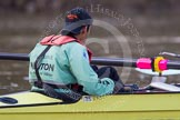 The Boat Race season 2013 - CUWBC training: The CUWBC reserve boat Blondie, cox Arav Gupta.. River Thames near Remenham, Henley-on-Thames, Oxfordshire, United Kingdom, on 19 March 2013 at 15:32, image #36