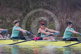 The Boat Race season 2013 - CUWBC training: In the CUWBC reserve boat Blondie 5 seat Sara Lackner, 6 Helena Schofield, and 7 Christine Seeliger.. River Thames near Remenham, Henley-on-Thames, Oxfordshire, United Kingdom, on 19 March 2013 at 15:41, image #71