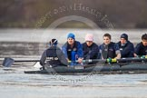 The Boat Race season 2013 - CUWBC training: The OULRC boat -  stroke Max Dillon, 7 Andrew Sayce, 6 Benjamin Walpole, 5 Jasper Warner and 4 Frederick Foster.. River Thames near Remenham, Henley-on-Thames, Oxfordshire, United Kingdom, on 19 March 2013 at 16:03, image #104