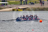 The Women's Boat Race and Henley Boat Races 2013. Dorney Lake, Dorney, Windsor, Buckinghamshire, United Kingdom, on 24 March 2013 at 14:42, image #358