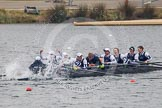 The Women's Boat Race and Henley Boat Races 2013. Dorney Lake, Dorney, Windsor, Buckinghamshire, United Kingdom, on 24 March 2013 at 15:40, image #523