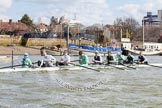 The Boat Race season 2013 -  Tideway Week (Friday) and press conferences. River Thames, London SW15,  United Kingdom, on 29 March 2013 at 10:35, image #28