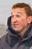 The Boat Race season 2013 -  Tideway Week (Friday) and press conferences: At the umpires press conference - Blue Boat race umpire Sir Matthew Pinsent.. River Thames, London SW15,  United Kingdom, on 29 March 2013 at 15:40, image #157