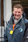 The Boat Race 2013: Sir Matthew Pinsent, umpire for the 2013 Boat Race Blue Boat race, hours before the start of the event.. Putney, London SW15,  United Kingdom, on 31 March 2013 at 12:52, image #55