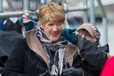The Boat Race 2013: BBC Sport commentator Clare Balding getting ready for the 2013 Boat Race.. Putney, London SW15,  United Kingdom, on 31 March 2013 at 14:29, image #78