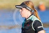 The Boat Race season 2014 - Women's Trial VIIIs(CUWBC, Cambridge): Wink Wink:  4 Sara Lackner.. River Thames between Putney Bridge and Mortlake, London SW15,  United Kingdom, on 19 December 2013 at 13:48, image #275