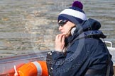 The Boat Race season 2014 - fixture OUWBC vs Molesey BC: OUWBC assistant coach and two-time British Olympian Natasha Townsend..     on 01 March 2014 at 12:29, image #46