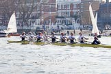The Boat Race season 2014 - fixture OUWBC vs Molesey BC.     on 01 March 2014 at 12:57, image #130