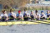 The Boat Race season 2014 - fixture OUWBC vs Molesey BC.     on 01 March 2014 at 13:06, image #157