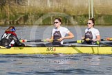 The Boat Race season 2014 - fixture OUWBC vs Molesey BC.     on 01 March 2014 at 13:10, image #197
