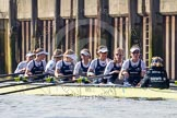 The Boat Race season 2014 - fixture OUWBC vs Molesey BC.     on 01 March 2014 at 13:16, image #213