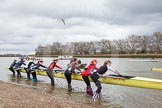 The Boat Race season 2014 - fixture CUWBC vs Thames RC.     on 02 March 2014 at 12:32, image #2