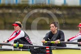 The Boat Race season 2014 - fixture CUWBC vs Thames RC: In the Thames RC boat 4 Helena Green, 3 Jordan Cole-Hossain, 2 Vicki Mortimor..     on 02 March 2014 at 13:10, image #42